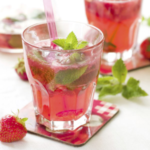 strawberry mojito or lemonade